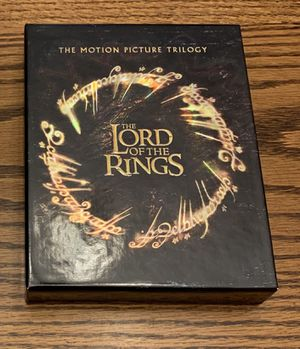 Lord Of The Rings Trilogy ~ Blu Ray DVD's for Sale in Thornton, CO