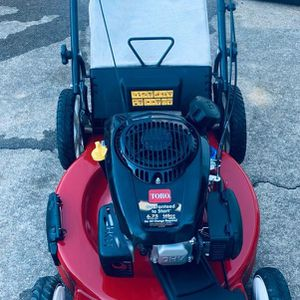 Toro lawn mower self propelled. Excellent condition. Works excellent. Firm price. for Sale in Duluth, GA