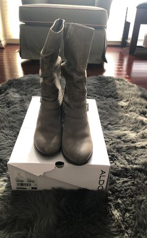 Gray boots for Sale in West Bloomfield Township, MI