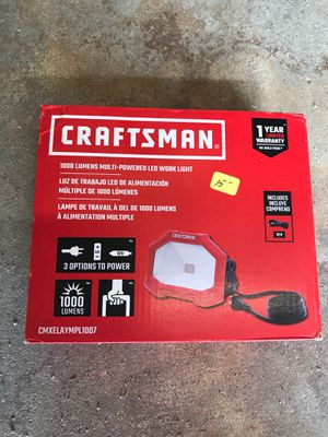 Craftsman multi-powered LED work light for Sale in Chocowinity, NC