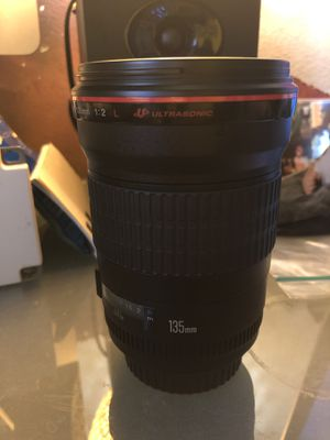Canon 135mm f2.0 for Sale in Tampa, FL