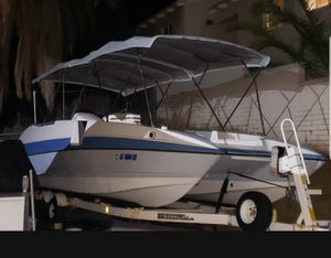 Catamaran deck boat with mercury 225 outboard for Sale in San Diego, CA