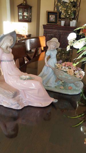 Porcelain figurines not Lladro for Sale in Murrieta, CA