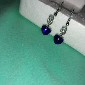 Beautiful Heart-Shaped Earrings. for Sale in Dallas, TX