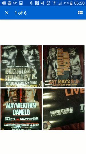 Boxing promo posters for Sale in Ruston, LA