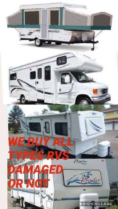 Sell me your trailer / campervan or rv (all bay area)