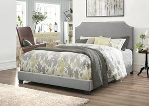 Queen bed frame with mattress set brand new for Sale in Houston, TX