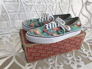 Turquoise/ Flamingo Vans (South Beach) for Sale in Biscayne Park, FL