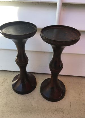 Half ft or more. Beautiful candle holder. for Sale in Fresno, CA