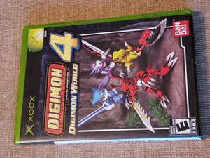 DIGIMON WORLD 4 - XBOX Game includes the instruction manual for Sale in Chambersburg, PA