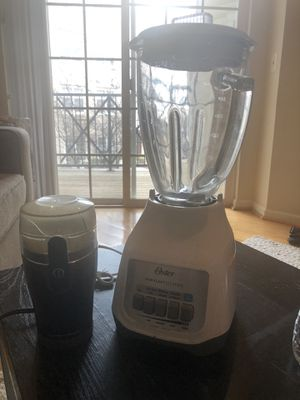 Hamilton beach coffee grinder, Oster blender for Sale in Fairfax, VA