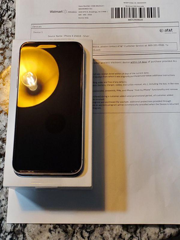 Apple iPhone X 256GB (New In Original Wrap)