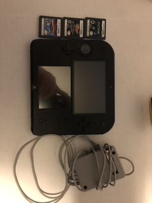 Nintendo 2DS 3 Games and Charger for Sale in Ellendale, DE