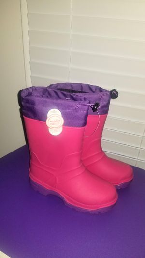 Size 13 kids winter/rain boots for Sale in Westgate, NY
