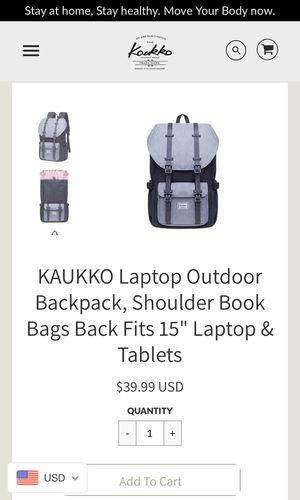 Backpack, laptop bag for Sale in Riverside, NJ