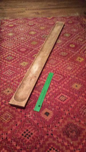 Long wooden bread tray for Sale in Brookline, MA