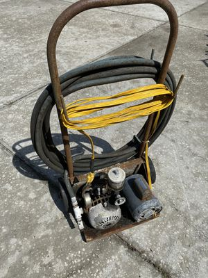 Compressor texture air pump for Sale in Plant City, FL