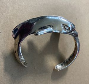 Sterling Silver Dolphin Cuff for Sale in San Francisco, CA
