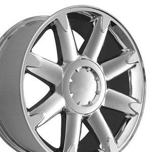"1 GMC Replica 20"" Denali Yukon Chevy Tahoe Wheel Rim Chrome OEM Spec Hollander # 5304 for Sale in Detroit, MI"