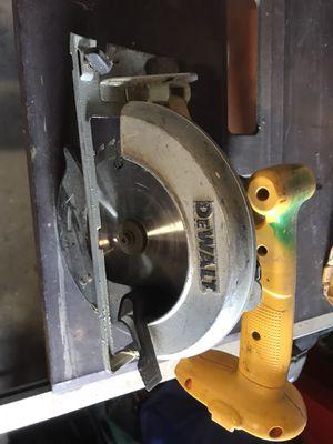 DEWALT 18v circular saw for Sale in Glendora, CA
