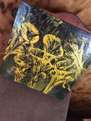 Golden Lilies Original Oil for Sale in Vernon, AZ