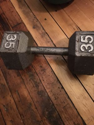 35 lb Dumbbell for Sale in West York, PA