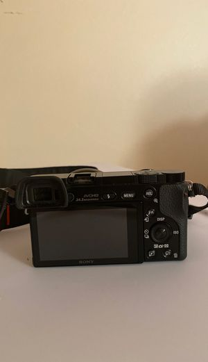 Sony DSLR mirrorless camera alpha a6000 for Sale in Norwich, CT