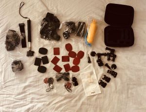 Camera Accessory Kit for GoPro Hero Session 3,5,6,7 GoPro Fusion, DBPOWER AKASO APEMAN SJ Cam, Xiaomi Yi 4K for Sale in Spring, TX