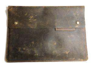 Beautiful Leather laptop case for Sale in Springfield, VA
