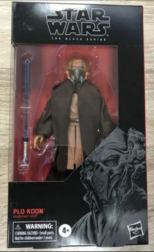 Star wars Black Series Plo Koon Collectible Action Figure Toy for Sale in Chicago, IL