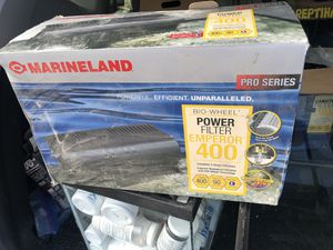 New MarineLand Emperor Filter Systems, 400B HOB up to 90g freshwater saltwater aquarium tank for Sale in Saint Paul, MN