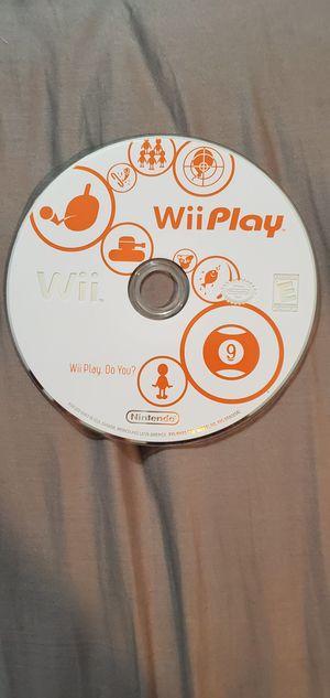 Wii Play CD for Sale in Alexandria, VA