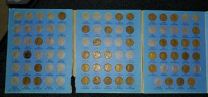 Lincoln head cent 1909 to 1940. for Sale in Bell Gardens, CA