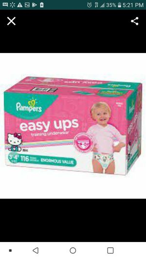Pampers Easy Ups 3t-4t for Sale in Lakeland, FL