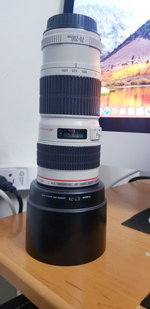 Canon lens 70/200 1:4 for Sale in Alexandria, VA