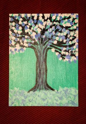 "Soft Decorative Art ("" 10 x 5"" acrylic on canvas) for Sale in Chandler, AZ"