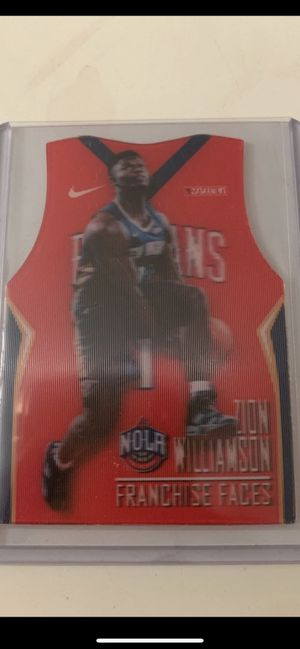 Zion Williamson franchise faces custom 3D card /19 lenticular rare for Sale in Fairfax, VA