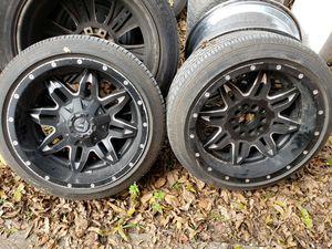 """(2) 18"""" Fuel Wheels for Sale in Houston, TX"""