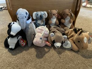Miscellaneous beanie babies - all have tags for Sale in Puyallup, WA