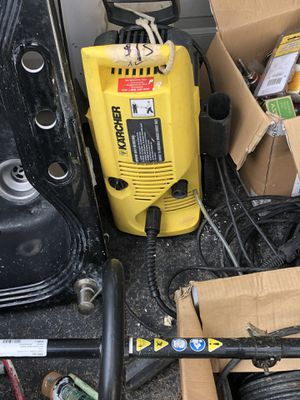 Karcher electric pressure washer for Sale in Lancaster, NY