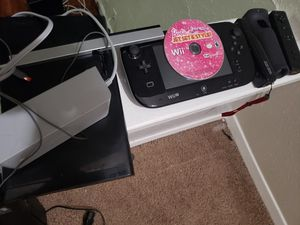 Nintendo Wii U with games for Sale in Dallas, TX