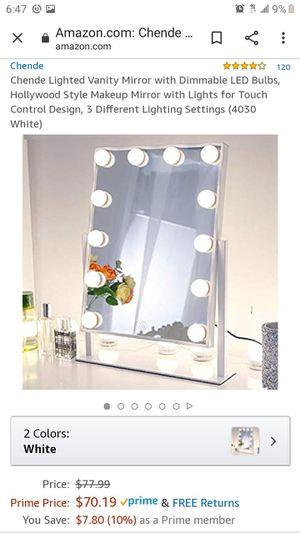 Vanity mirror / makeup mirror for Sale in Ontario, CA
