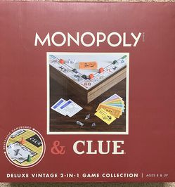 New Monopoly & Clue Game for Sale in Sutton,  MA