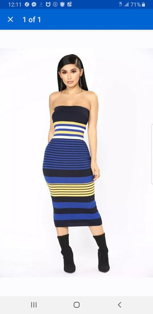Fashion Nova Tube Dress Maxi size medium for Sale in Alexandria, VA