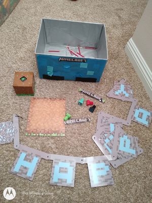 Free Minecraft party stuff for Sale in Hacienda Heights, CA