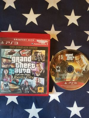 Grand Theft Auto Episodes From Liberty City (PS3) for Sale in US