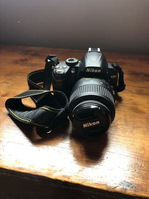 Nikon D3000 Camera for Sale in Tujunga, CA