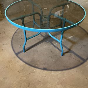 Glass Patio Table for Sale in Bristol, CT