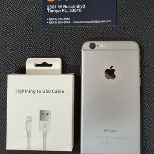 Iphone 6 Unlocked Like New Condition With 30 Days Warranty for Sale in Tampa, FL