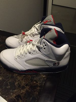 "Air Jordan 5 retro ""Olympic"" size 13 for Sale in Portland, OR"